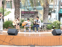 Summer Fun at Santana Row